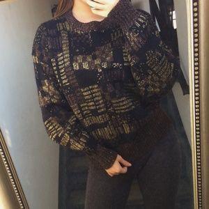 Vintage Retro 80s Knit Sweater